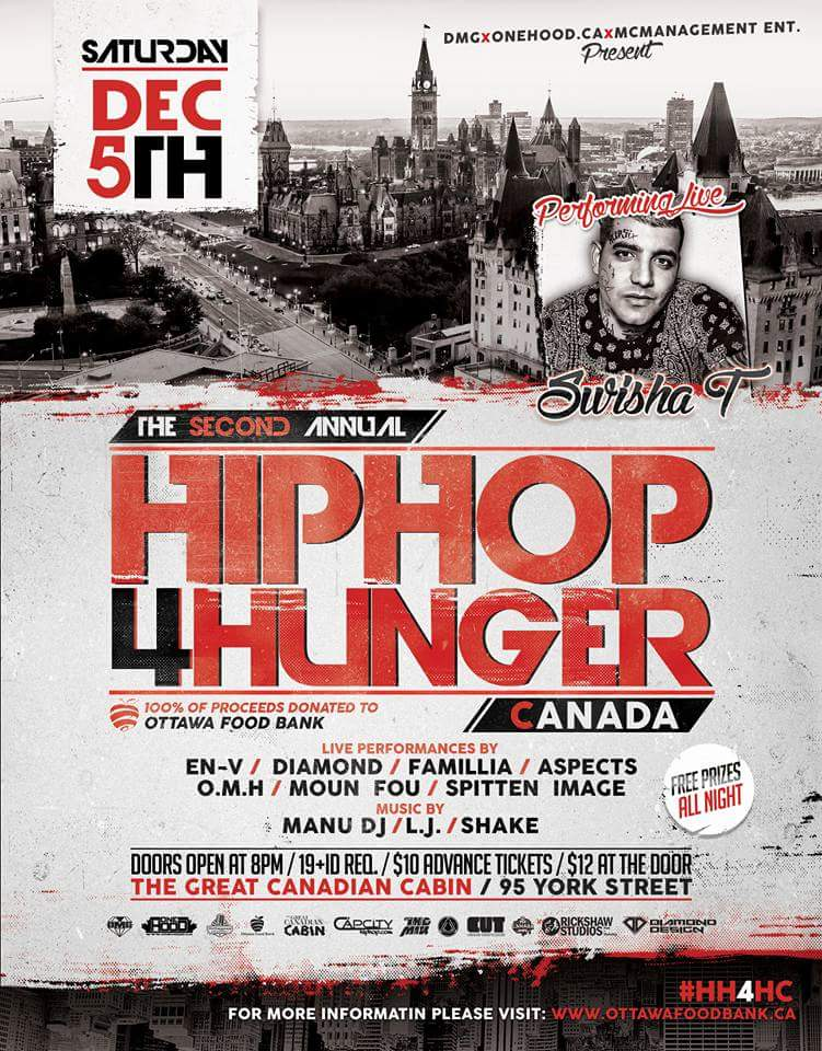 HipHop 4 Hunger - Ottawa Food Bank
