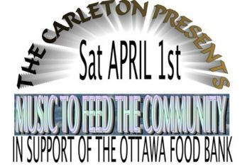 Werth It Carleton Tavern Ottawa Food Bank donate Food