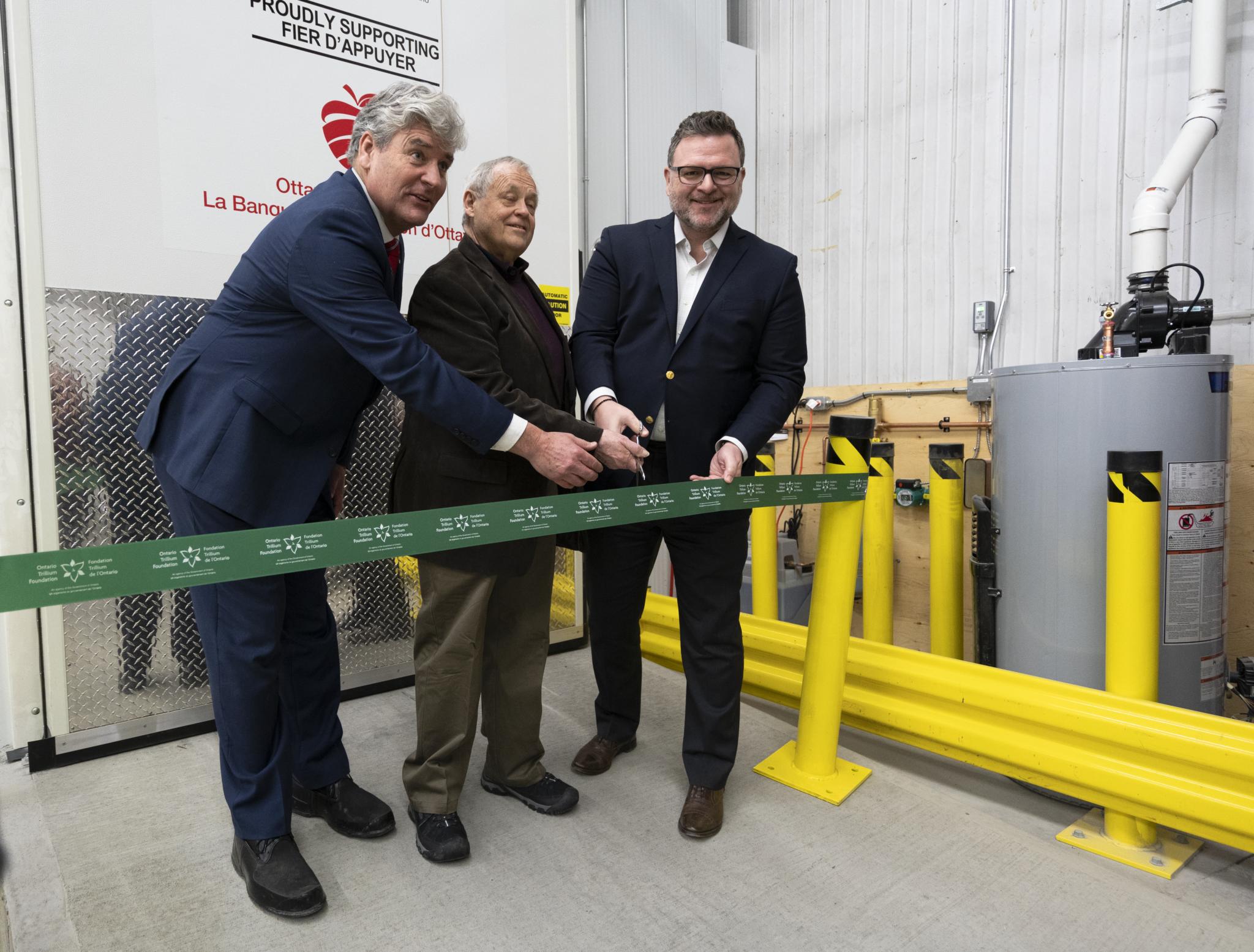 Ottawa food bank new freezer trillium foundation ontario