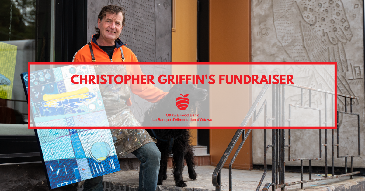 Christopher griffin art studio painting fundraiser
