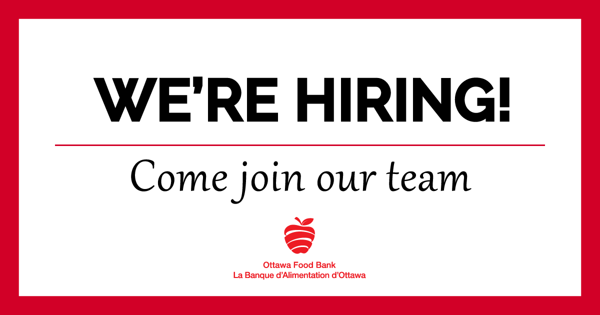 We're hiring ottawa jobs openings