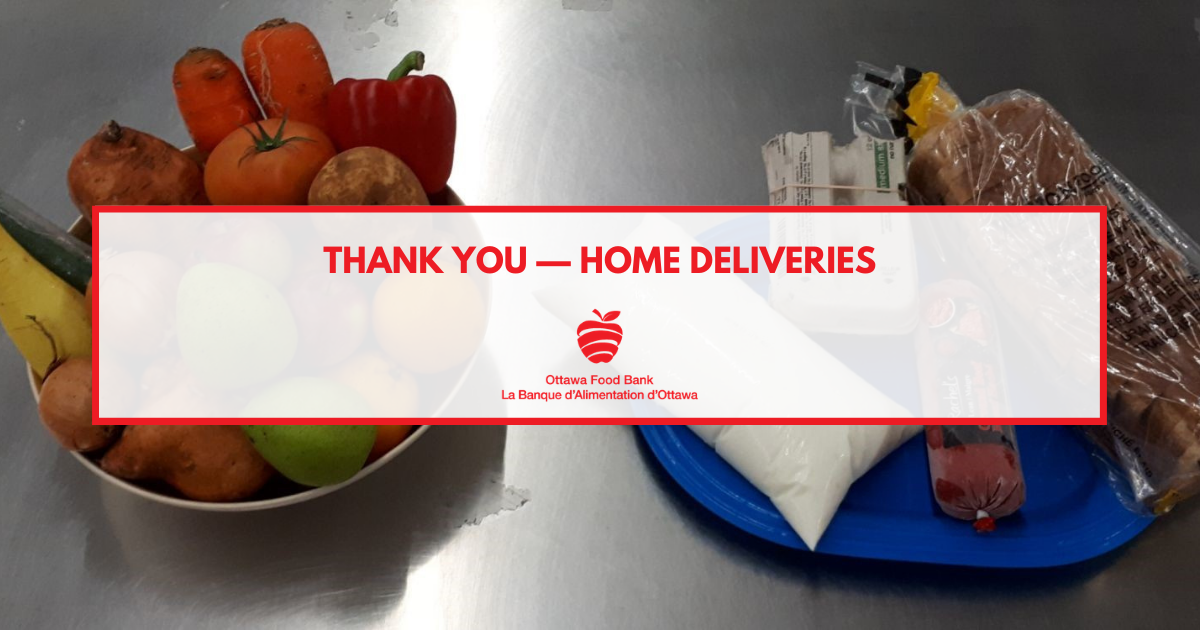 home deliveries ottawa food bank