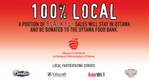 Black Fly Ottawa Food Bank Fundraiser